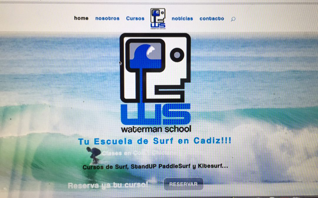 captura pagina web waterman school