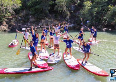 Waterman School Travesia en Paddle Surf por el Rio